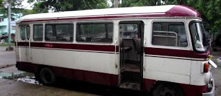 It Could Only Happen To Me - A transport downgrade in Burma