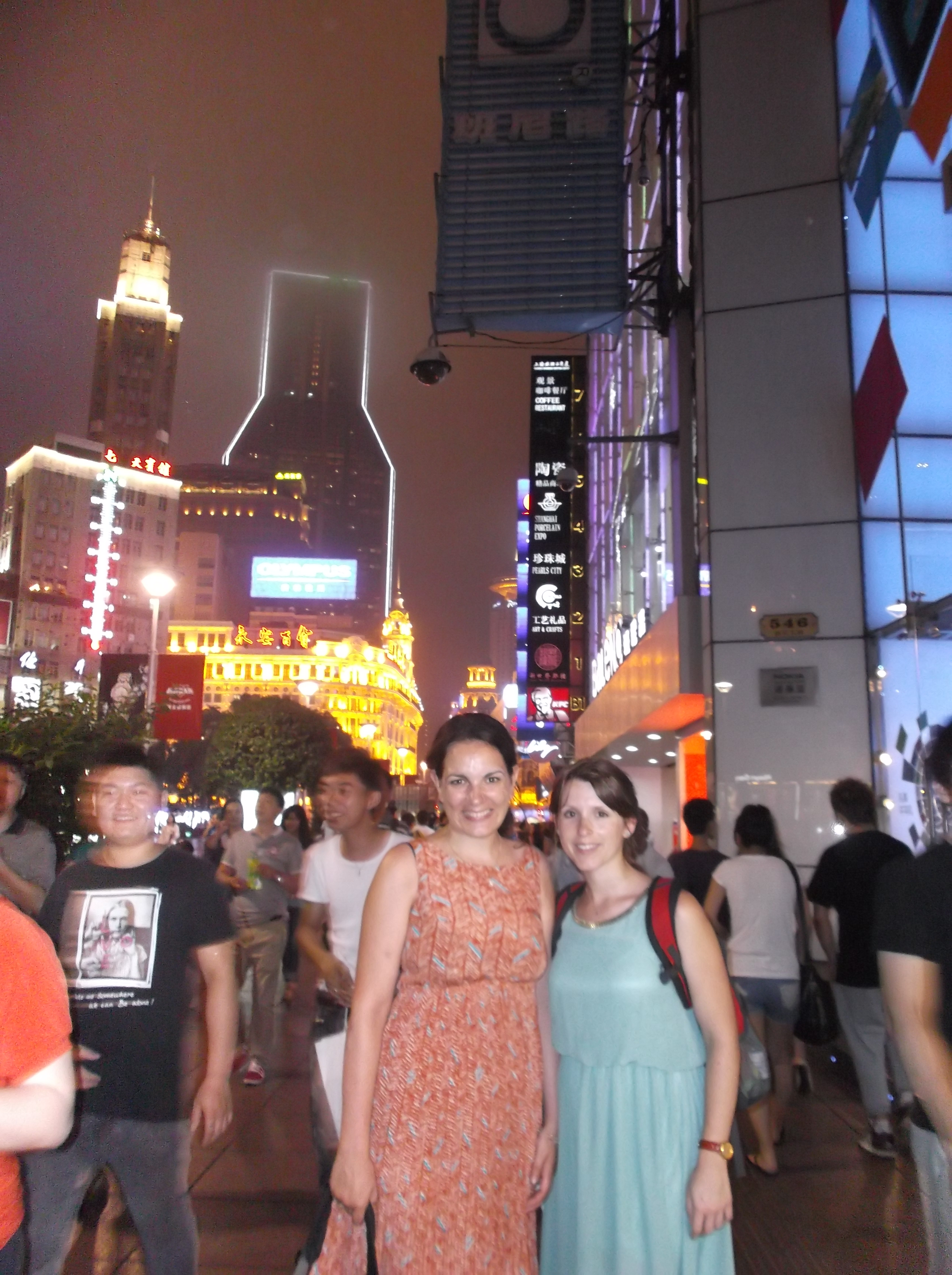 Living the high-life in Shanghai.