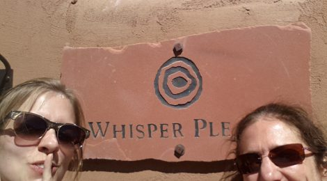 Ojo Caliente: Don't forget to whisper!