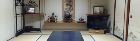 Staying in a Japanese ryokan