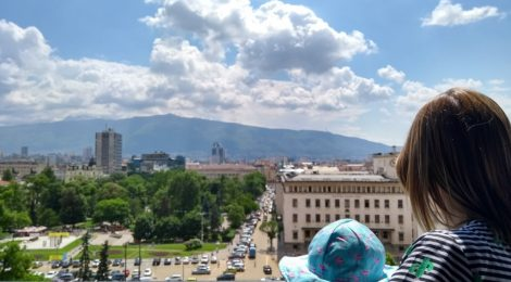 Sightseeing in Sofia on maternity leave
