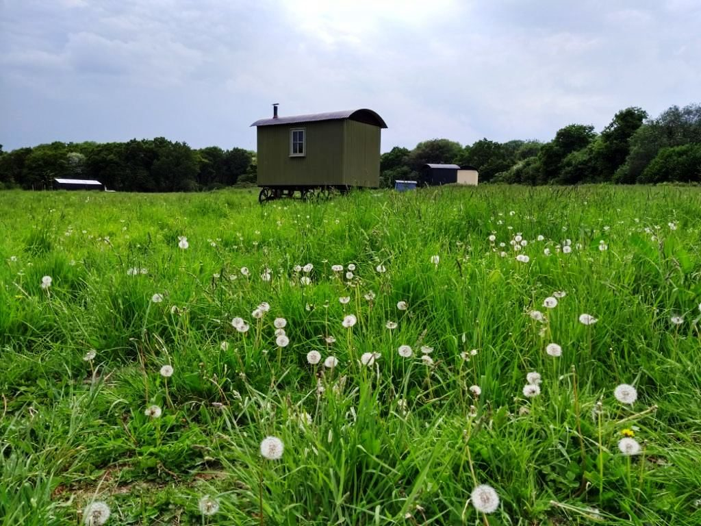 A review of the Wriggly Tin Shepherd's Huts in the South Downs