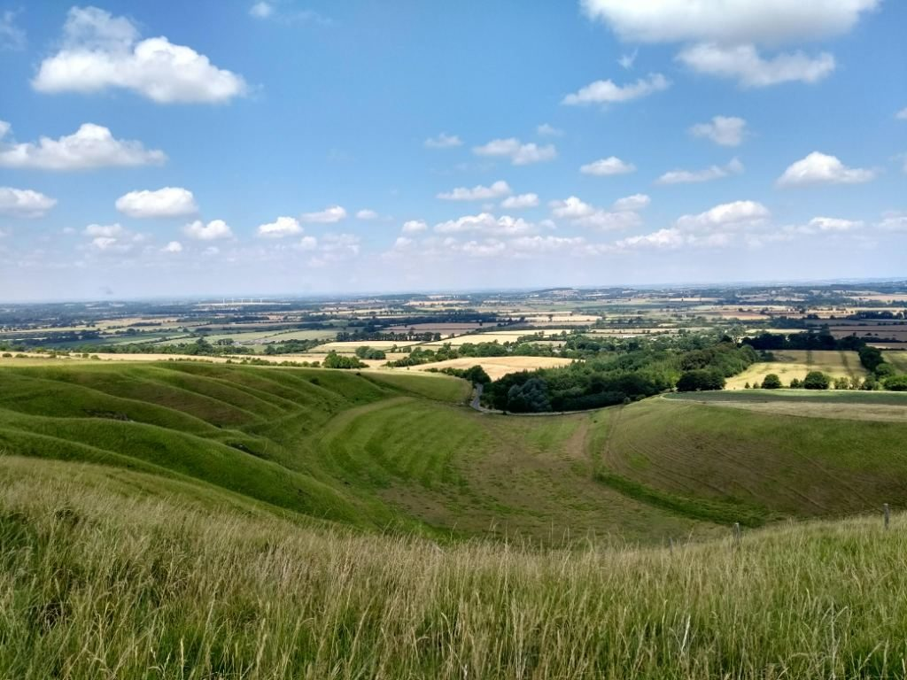 The Oxfordshire countryside