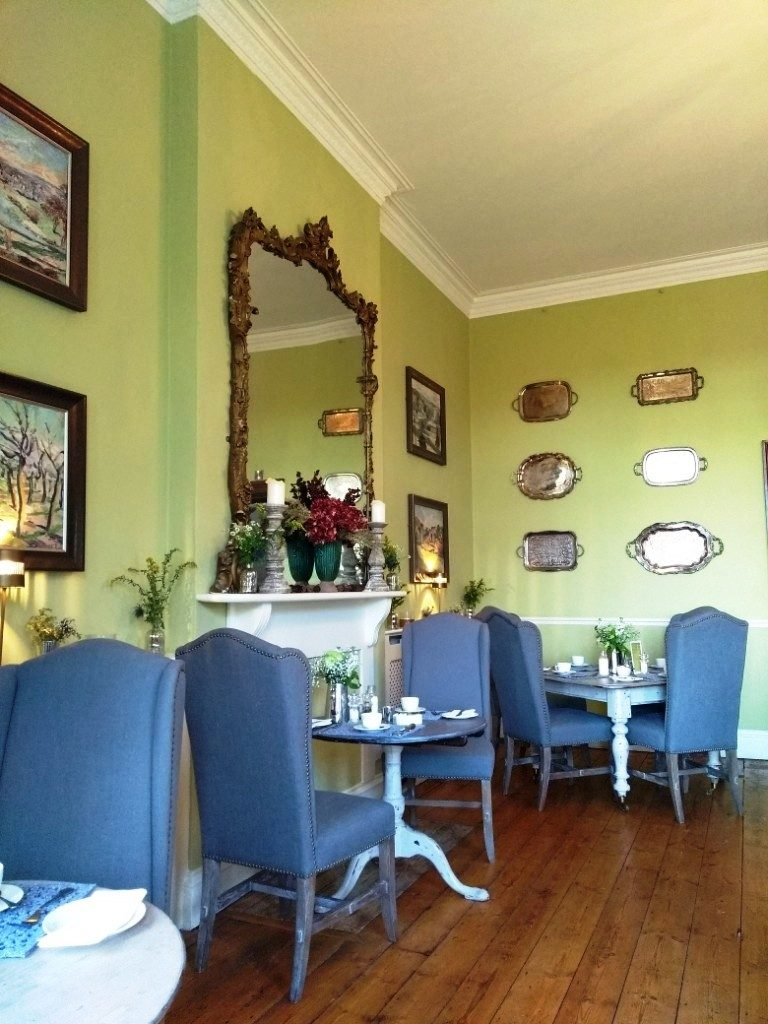 The dining room at Brooks Country House Hotel