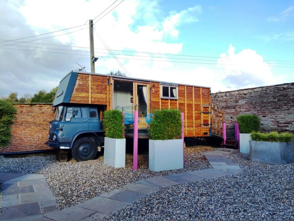 The horsebox at Brooks Country House Hotel