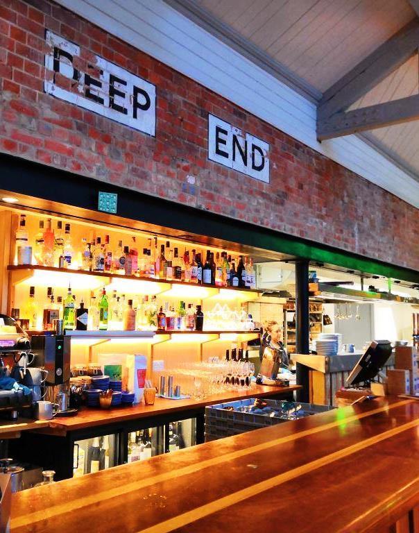 Thames Lido's bar