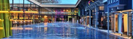 Outdoor pool at Thames Lido