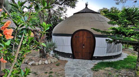A yurt at Yurts Tarifa