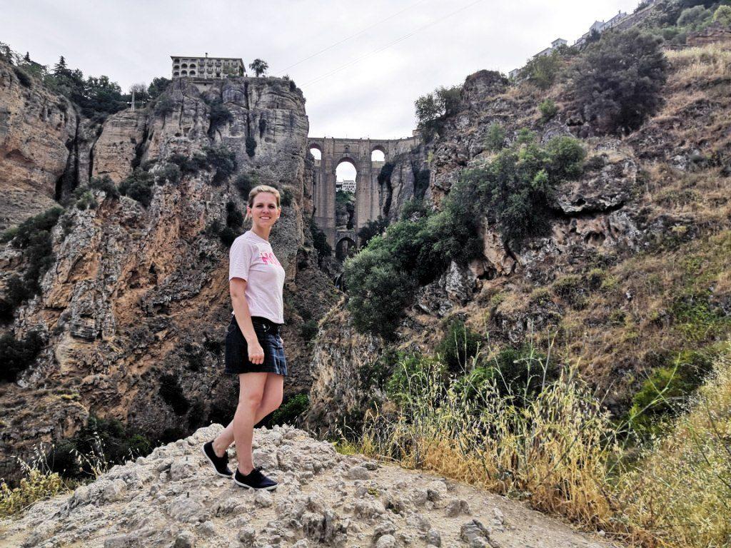 The valley below Puente Nuevo