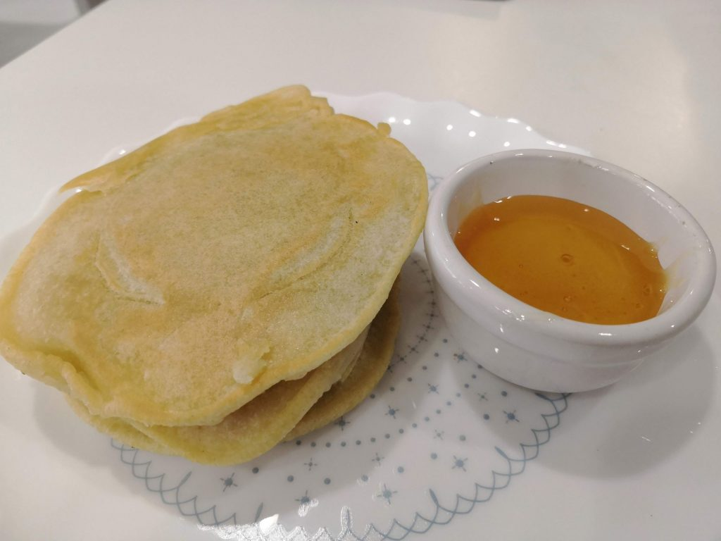 Skipping Day pancakes