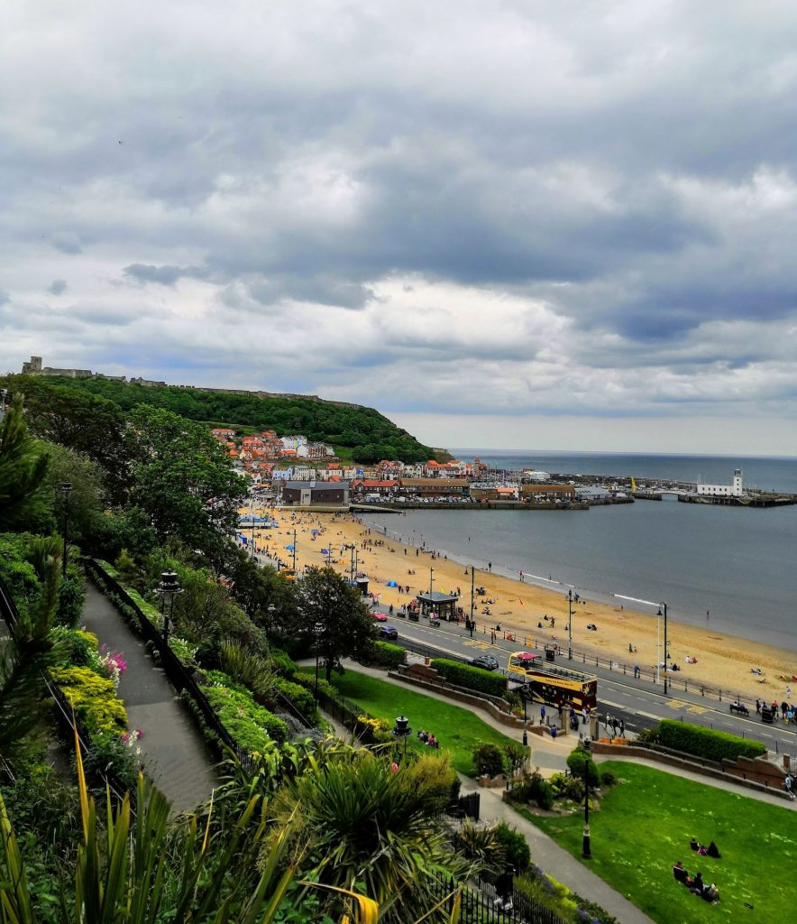 South Bay Scarborough, one of the best beaches in North Yorkshire