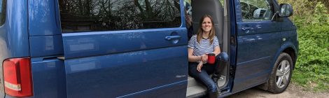 First cup of tea in the VW campervan