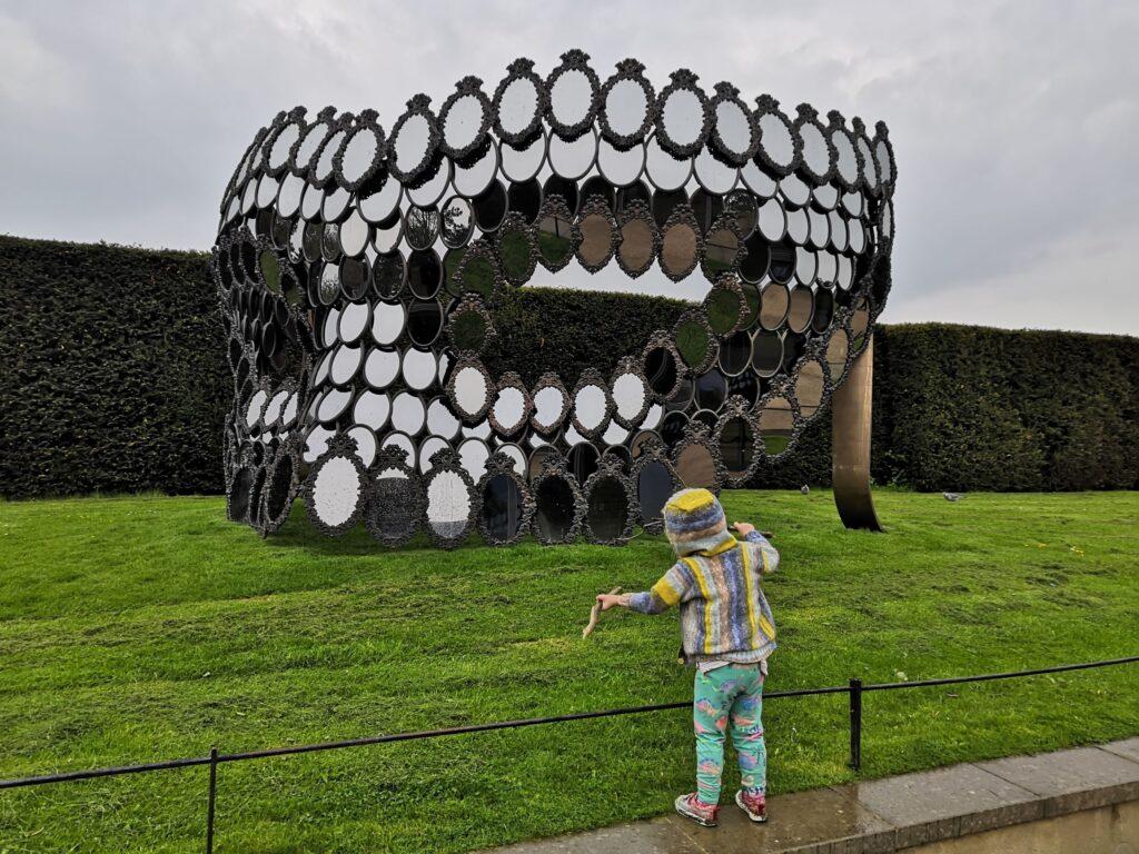 Joana Vasconcelos at Yorkshire Sculpture Park